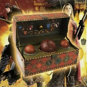 NWT Harry Potter Quidditch Collector's Set
